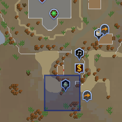 Obelisk Location Desert