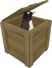 Penguin crate