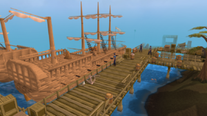 Portsarim docks