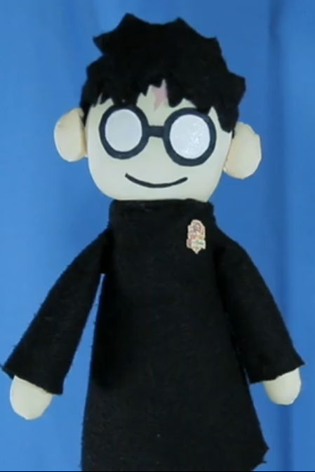 how to make harry potter puppet pals