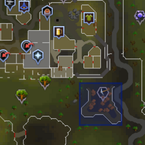 South-east Varrock mining site