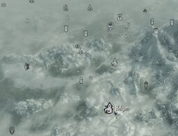 Skyrim map Helgen