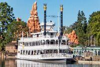 Riverboat at Disneyland Anaheim