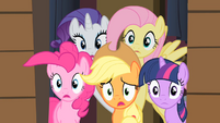 Ponies worried S01E21