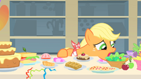 Applejack doesn&#39;t know what to eat first 1 S01E22