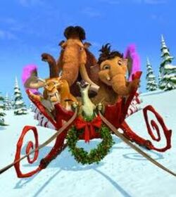 IceAgeChristmasArtwork
