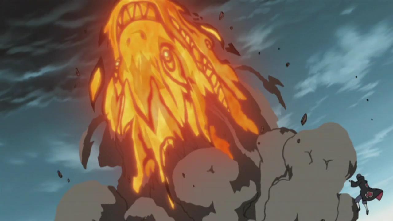 dragon fire technique