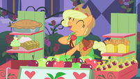 Applejack happy to make first sale S1E26