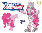 Transformares Pinkie Pie