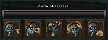 Zombie stress level