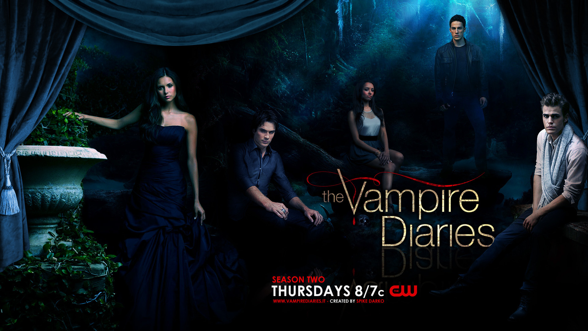 vampire diaries saison 1. Black Bedroom Furniture Sets. Home Design Ideas