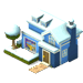 Blue Holiday House-icon