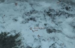 Skyrim map Shrouded Grove