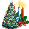 Giant Holiday Candle Tree-icon