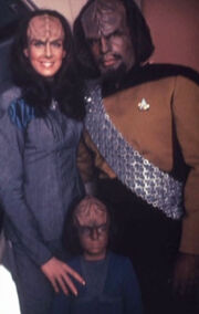 K&#39;Ehleyr, Worf, Alexander
