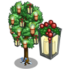 Holiday Lantern Tree-icon