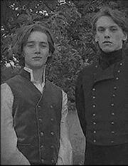 Gellert Grindelwald and Albus Dumbledore