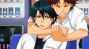 Kikumaru and Echizen