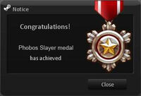 Phobos Slayer Medal