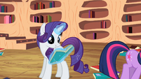 Rarity thanks Twi S2E10