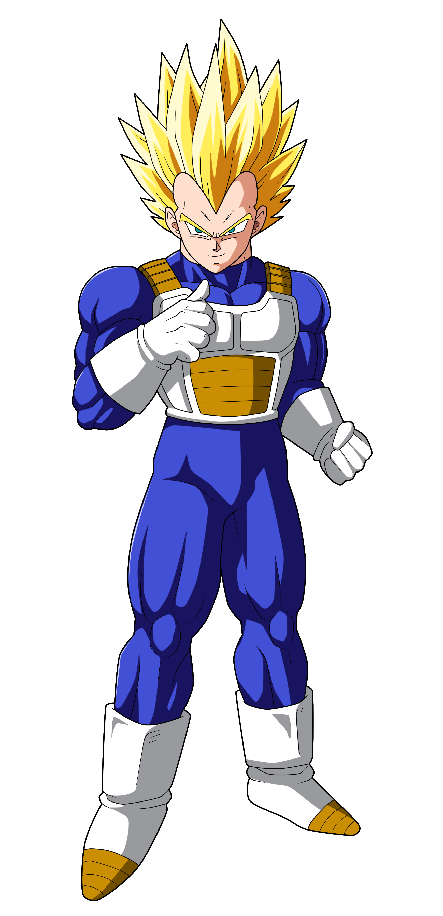 Renders HD de Goku y Vegeta