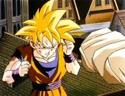 FPSSJ Gohan battling