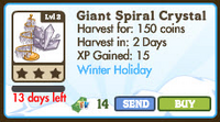 Giant Spiral Crystal Tree Market Info