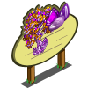 Giant Amethyst Gem Tree Mastery Sign-icon