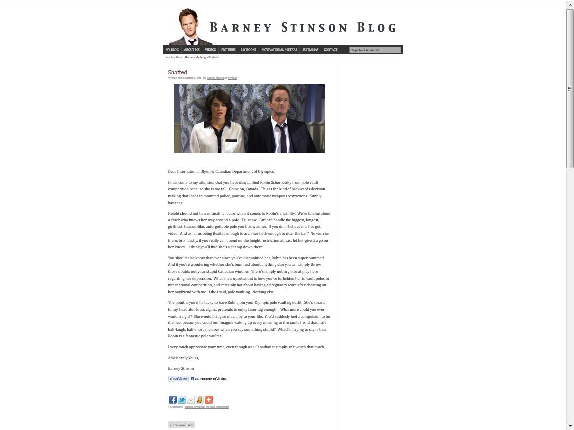 Barney Blog