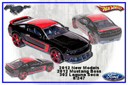 2012 New Models 2012 Mustang Boss 302 Laguna Seca