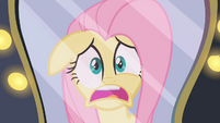 Fluttershy looking in the mirror 2 S2E11