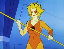 Female Thundercat on 117 Episodes Statistics Name Cheetara Gender Female Species Thunderian