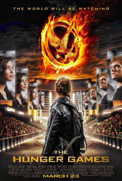 Hunger Games Poster.jpg on Moviepedia: Information ...