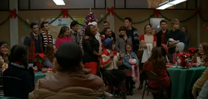 Glee Cast - Do They Know It&#39;s Christmas- (Glee Cast Version)