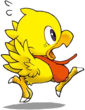 Itadaki-Chocobo Running