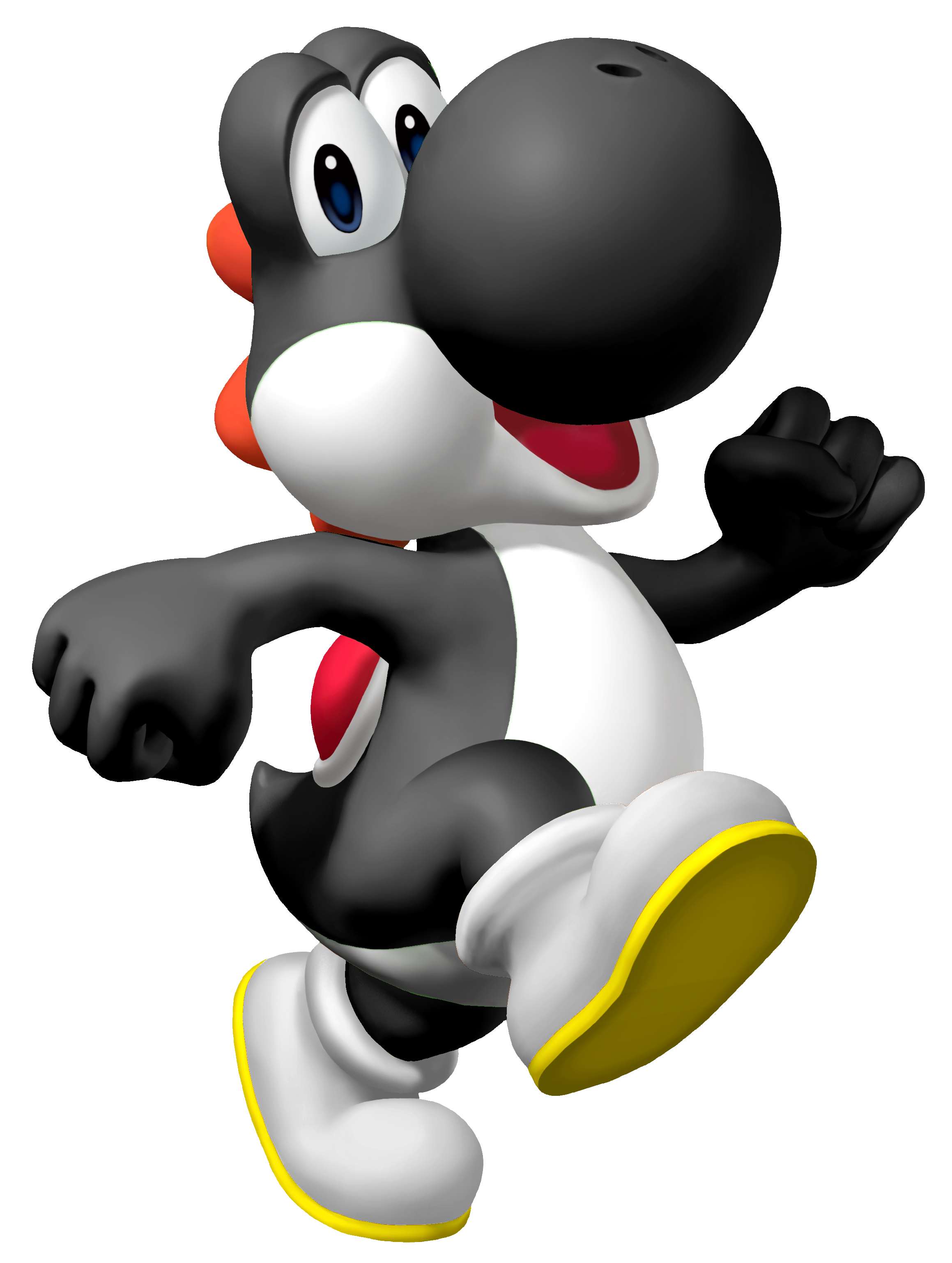Black Yoshi The last Yoshi, this one will not disappoint! Black Yoshi