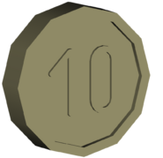 Pre-Alpha Generic Coin &#39;&#39;10&#39;&#39;