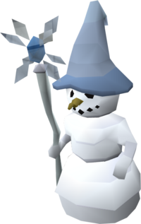 Mage snowman