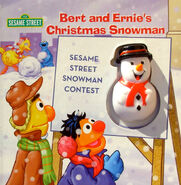 Bert and Ernie&#39;s Christmas Snowman