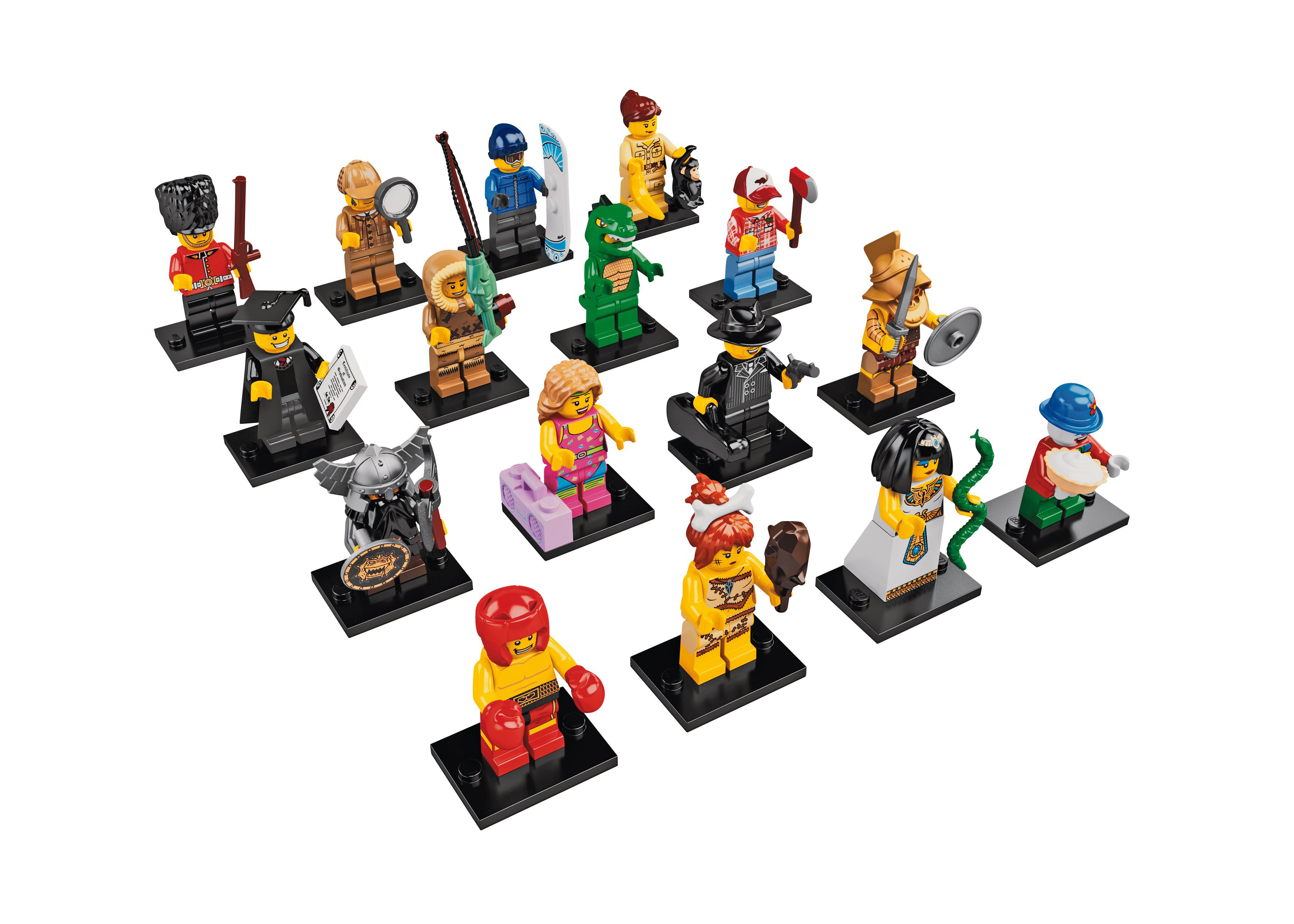 item 8805 pieces 105 each minifigure counted once minifigures 16 price