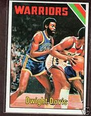 Davis with the Warriors