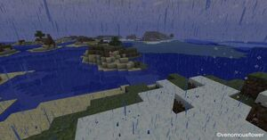 Minecraft rain