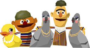 Bert&amp;ErnieGagJibJab