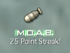 MOAB Point Streak