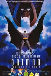Ash's Adventures of Batman Mask of the Phantasm Poster