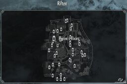 Elgrims Elixirs map skyrim