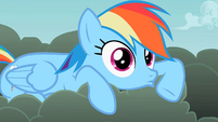 Weird Lip Rainbow Dash S2E08