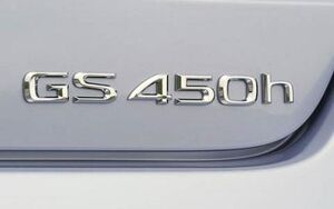 GS450h rear