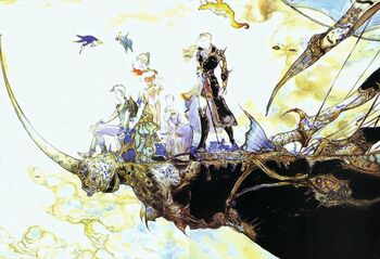 FFV Artwork Amano