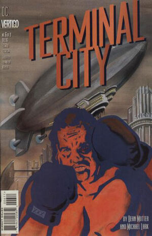 Cover for Terminal City #6
